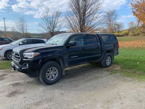 2016 Toyota Tacoma for sale at Integrity Auto LLC in Sheldon VT