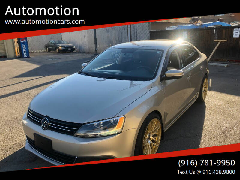 2013 Volkswagen Jetta for sale at Automotion in Roseville CA