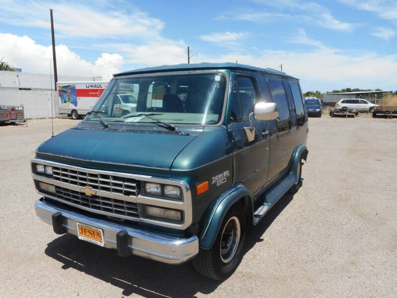 1995 Chevrolet Chevy Van for sale at AUGE'S SALES AND SERVICE in Belen NM