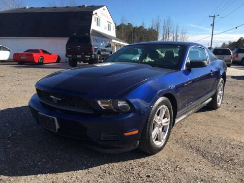 2011 Ford Mustang for sale at Complete Auto Credit in Moyock NC