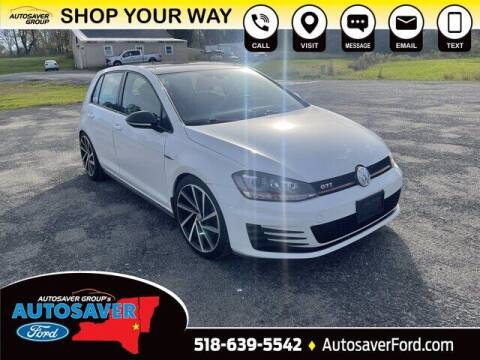 2015 Volkswagen Golf GTI for sale at Autosaver Ford in Comstock NY