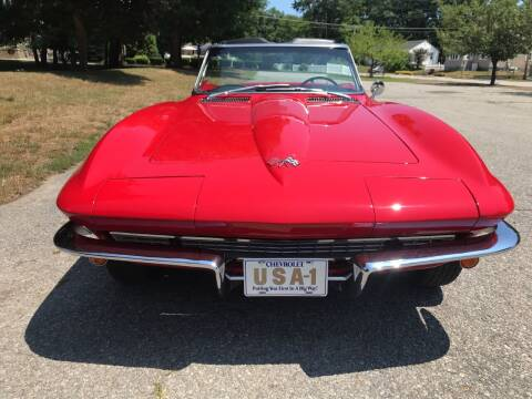 1966 Chevrolet Corvette for sale at D'Ambroise Auto Sales in Lowell MA