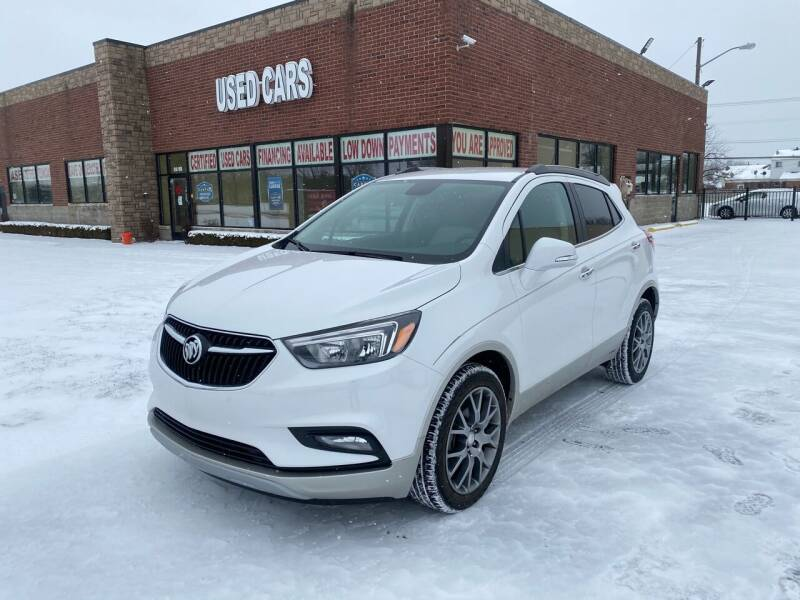 2018 Buick Encore for sale at My Town Auto Sales in Madison Heights MI