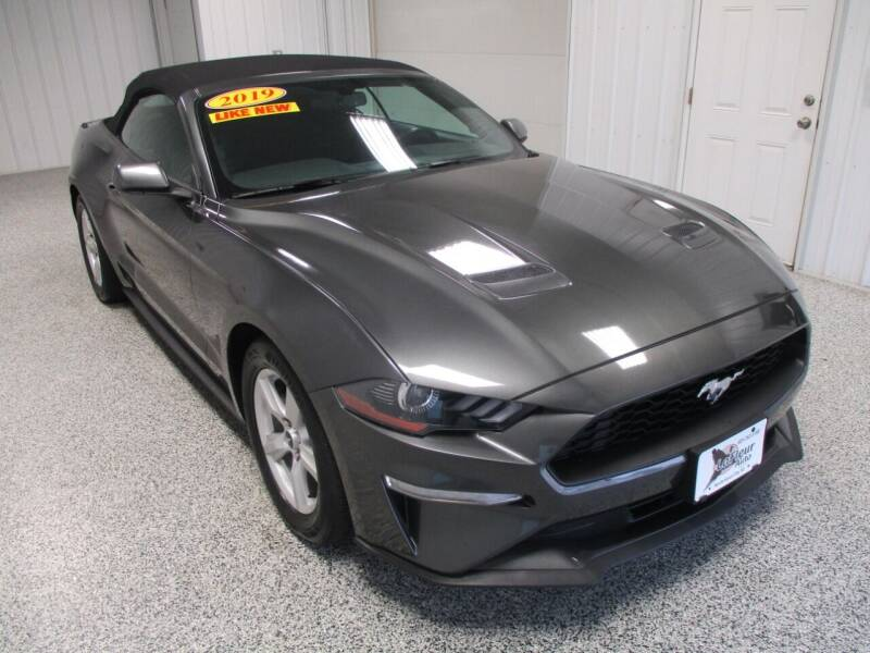 2019 Ford Mustang for sale at LaFleur Auto Sales in North Sioux City SD