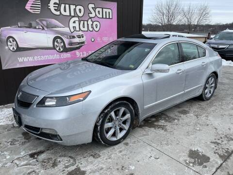 2012 Acura TL for sale at Euro Auto in Overland Park KS