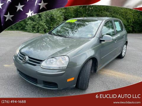 2008 Volkswagen Rabbit for sale at 6 Euclid Auto LLC in Bristol VA