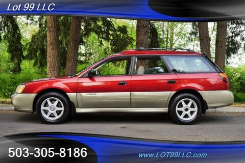 2002 Subaru Outback for sale at LOT 99 LLC in Milwaukie OR