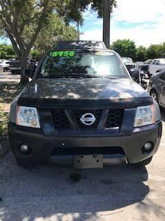 2005 Nissan Xterra for sale at DAN'S DEALS ON WHEELS in Davie FL