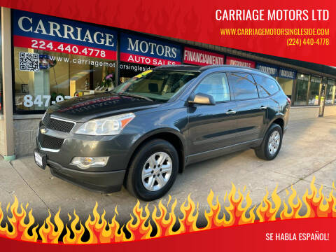 2011 Chevrolet Traverse for sale at Carriage Motors LTD in Ingleside IL