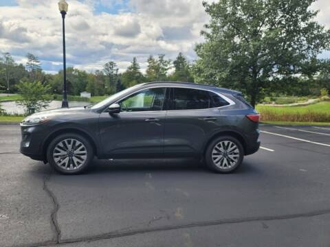 2020 Ford Escape for sale at GRS Auto Sales and GRS Recovery in Hampstead NH