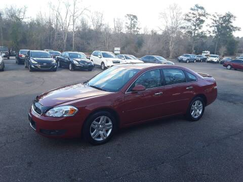 2007 Chevrolet Impala for sale at WALKER MOTORS LLC in Hattiesburg MS