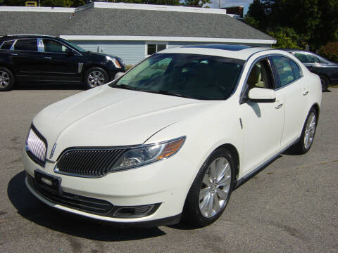 2013 Lincoln MKS for sale at North South Motorcars in Seabrook NH