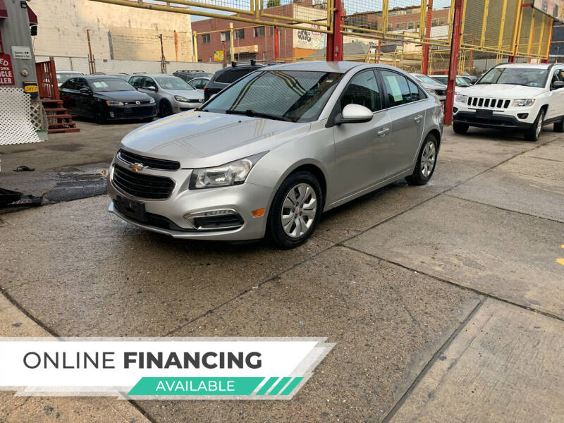 2015 Chevrolet Cruze for sale at Raceway Motors Inc in Brooklyn NY