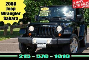 2008 Jeep Wrangler for sale at Ilan's Auto Sales in Glenside PA