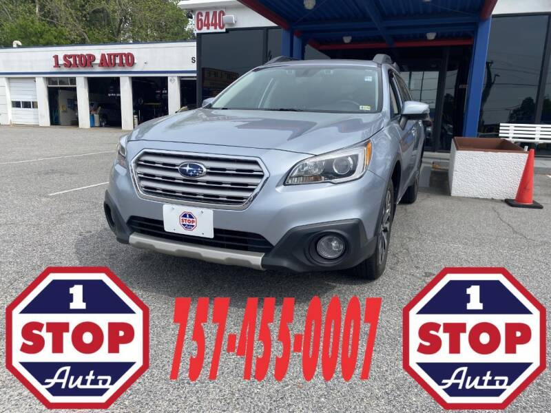 2017 Subaru Outback for sale at 1 Stop Auto in Norfolk VA