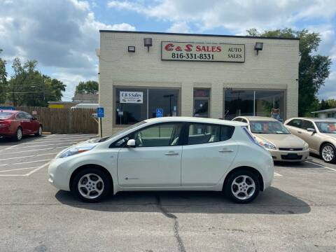 2012 Nissan LEAF for sale at C & S SALES in Belton MO