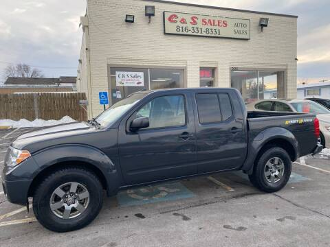 2013 Nissan Frontier for sale at C & S SALES in Belton MO