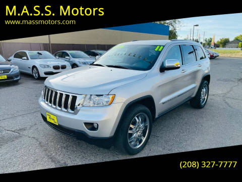 2011 Jeep Grand Cherokee for sale at M.A.S.S. Motors in Boise ID