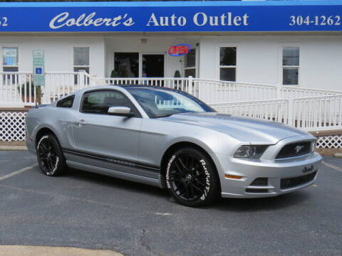 2013 Ford Mustang for sale at Colbert's Auto Outlet in Hickory NC