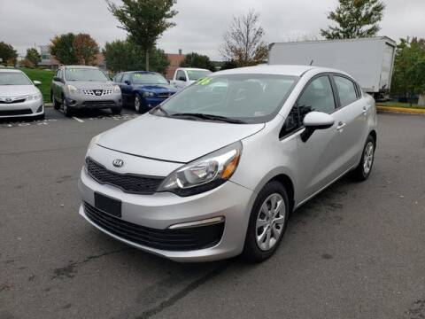 2016 Kia Rio for sale at SOUTH AMERICA MOTORS in Sterling VA