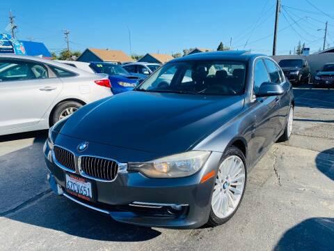2013 BMW 3 Series for sale at Sunset Motors in Manteca CA