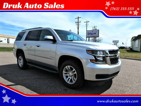 2017 Chevrolet Tahoe for sale at Druk Auto Sales in Ramsey MN
