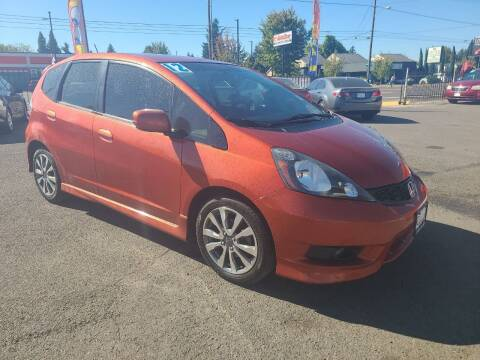 2012 Honda Fit for sale at Universal Auto Sales in Salem OR