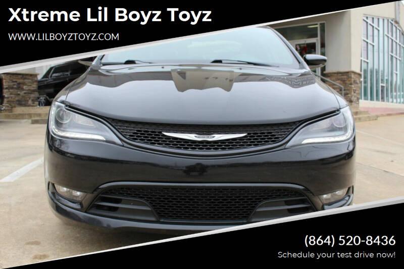 2015 Chrysler 200 for sale at Xtreme Lil Boyz Toyz in Greenville SC