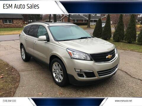 2013 Chevrolet Traverse for sale at ESM Auto Sales in Elkhart IN