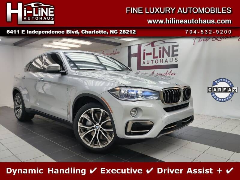 2018 BMW X6 for sale in Charlotte, NC