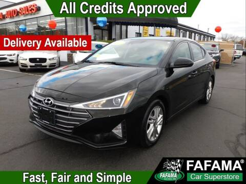 2019 Hyundai Elantra for sale at FAFAMA AUTO SALES Inc in Milford MA
