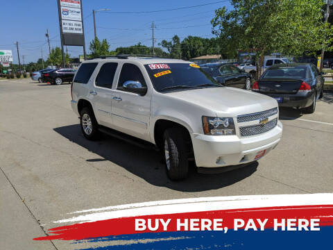 2011 Chevrolet Tahoe for sale at AmericAuto in Des Moines IA