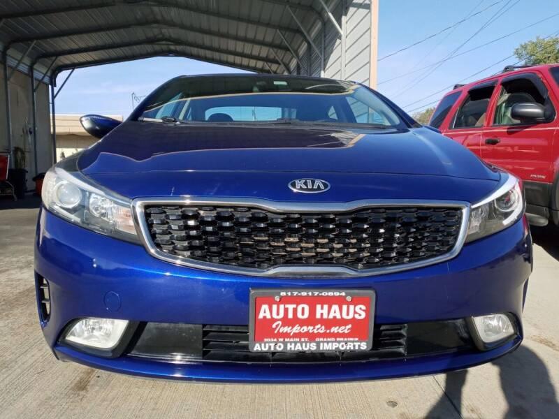 2017 Kia Forte for sale at Auto Haus Imports in Grand Prairie TX