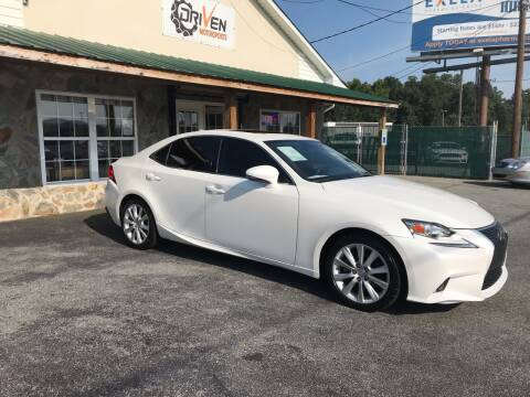 2015 Lexus IS 250 for sale at Driven Pre-Owned in Lenoir NC