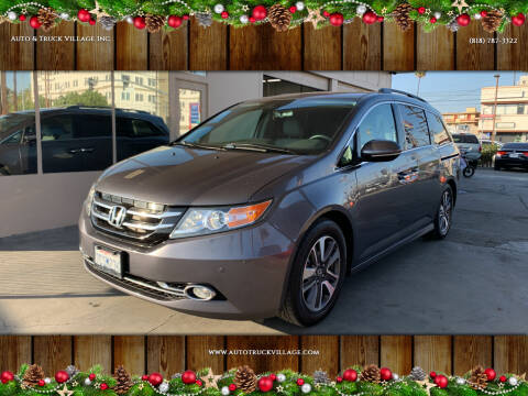 2014 Honda Odyssey for sale at Auto & Truck Village Inc. in Van Nuys CA