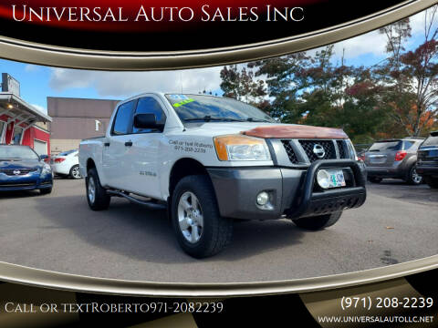 2008 Nissan Titan for sale at Universal Auto Sales Inc in Salem OR