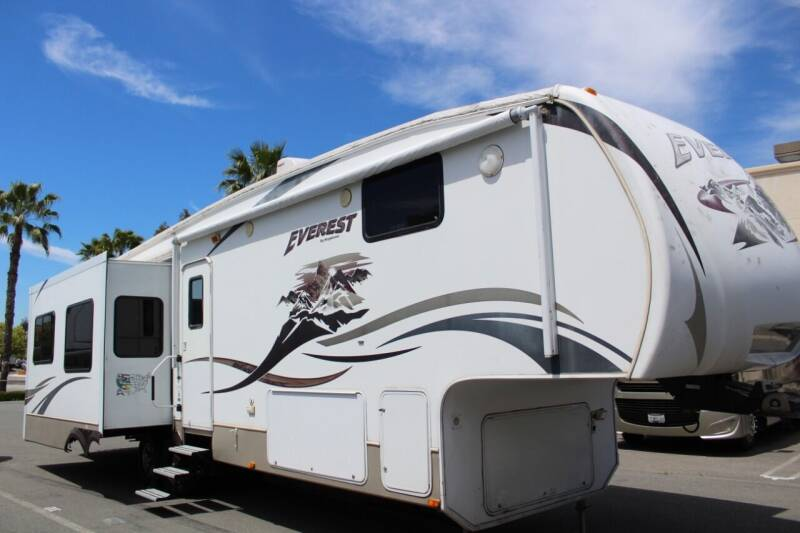 2009 Keystone Everest M-344 J for sale at Rancho Santa Margarita RV in Rancho Santa Margarita CA