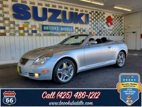 2008 Lexus SC 430 for sale at BROOKS BIDDLE AUTOMOTIVE in Bothell WA