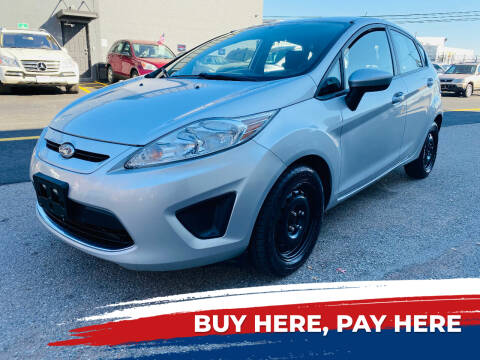 2012 Ford Fiesta for sale at BUENDIA AUTO GROUP in Hasbrouck Heights NJ