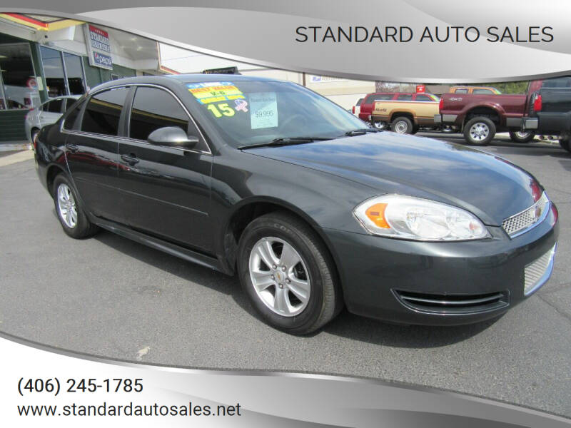 2015 Chevrolet Impala Limited for sale at Standard Auto Sales in Billings MT