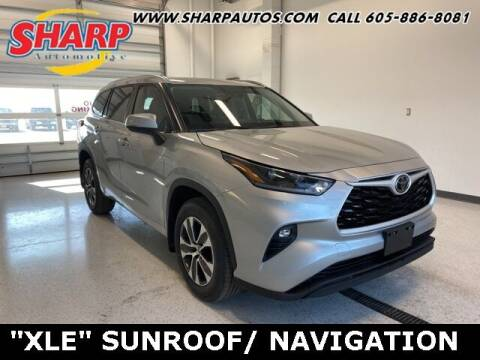 2021 Toyota Highlander for sale at Sharp Automotive in Watertown SD