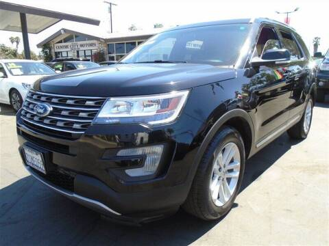 2016 Ford Explorer for sale at Centre City Motors in Escondido CA