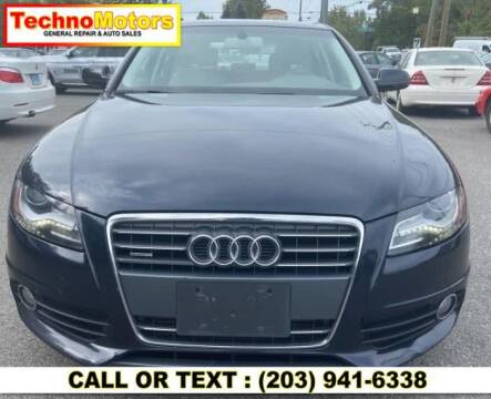 2012 Audi A4 for sale at Techno Motors in Danbury CT