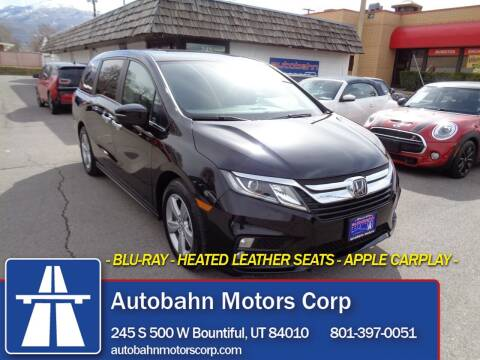 2020 Honda Odyssey for sale at Autobahn Motors Corp in Bountiful UT