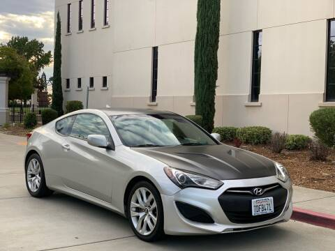 2013 Hyundai Genesis Coupe for sale at Auto King in Roseville CA