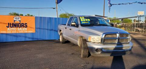 2005 Dodge Ram Pickup 1500 for sale at Juniors Auto Sales in Tucson AZ