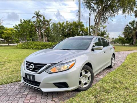 2016 Nissan Altima for sale at Citywide Auto Group LLC in Pompano Beach FL