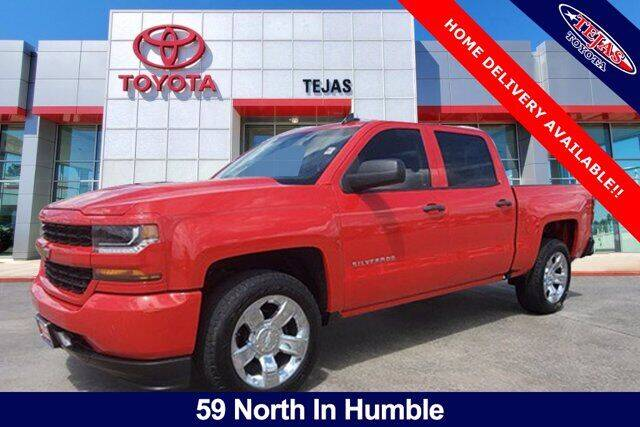 2018 Chevrolet Silverado 1500 for sale at TEJAS TOYOTA in Humble TX