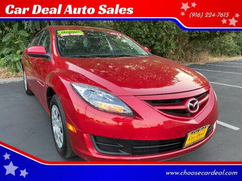 2012 Mazda MAZDA6 for sale at Car Deal Auto Sales in Sacramento CA