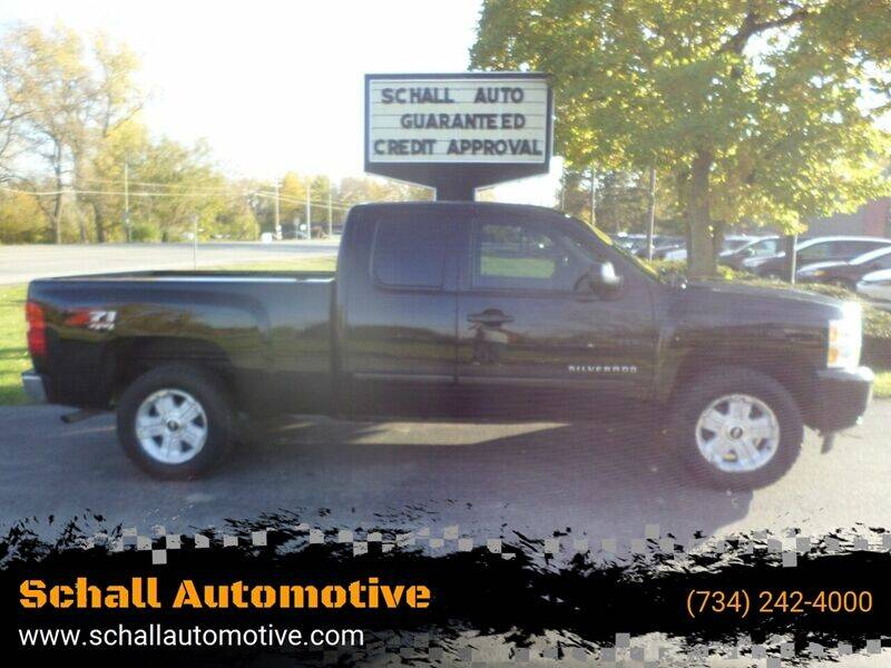 2013 Chevrolet Silverado 1500 for sale at Schall Automotive in Monroe MI